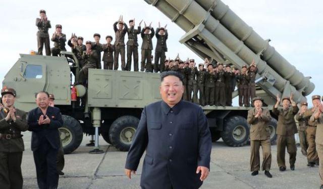 Korea Utara perlihatkan Rudal balstik belum lama ini.(Foto/Int)