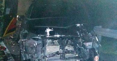 Mobil rusak akibat tabrakan beruntun di Jalan Tol Medan Tebing Tinggi, malam natal di Sergai jadi berduka, Rabu (26/12/2019)