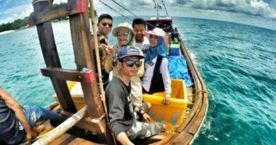 Pulau Pandang dan Salahnama Objek Wisata Banyak Dikunjungi Masyarakat