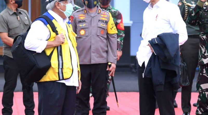 Usai Tinjau Penanganan Banjir di Kalsel, Presiden Jokowi Bertolak Menuju Sulbar