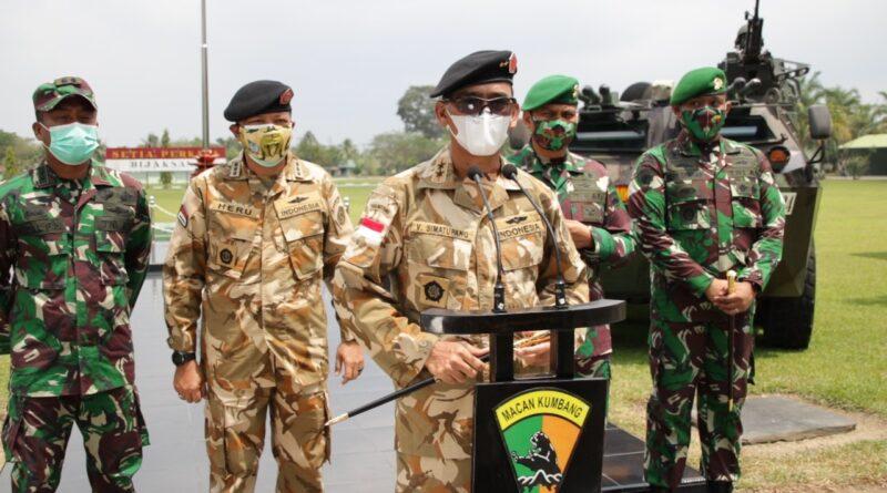 450 Personel Batalyon Infanteri 121/MK Akan Diseleksi untuk Misi Perdamaian PBB di Kongo