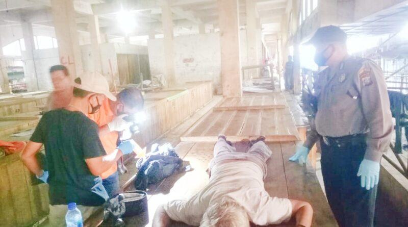 Masyarakat Geger, Di Pasar Gambir Kota Tebing Tinggi Ada Mayat