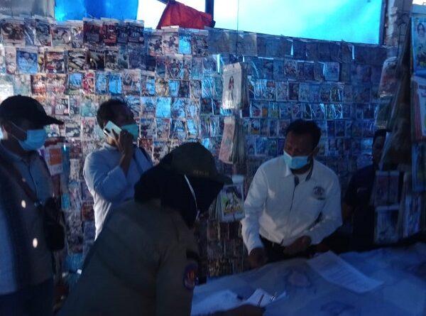 Dinilai Langgar PPKM, Polsek Patumbak Tutup Sementara Toko Kaset