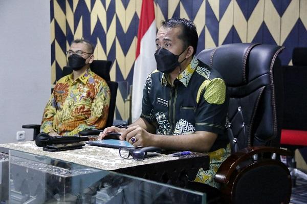 Wakil Wali Kota Medan Ikuti Rapat Terkait Penyaluran Bantuan PPKM