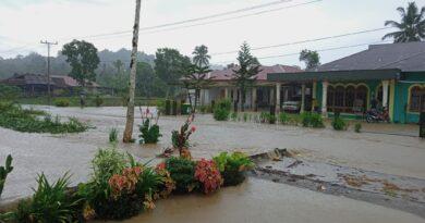 Puluhan Rumah Terendam Banjir di Kabupaten Nias